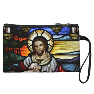 Jesus as the Good Shepherd Stained Glass Wristlets
