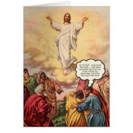Happy birthday jesus cards greeting photo cards zazzle jesus ascends birthday card bookmarktalkfo Gallery