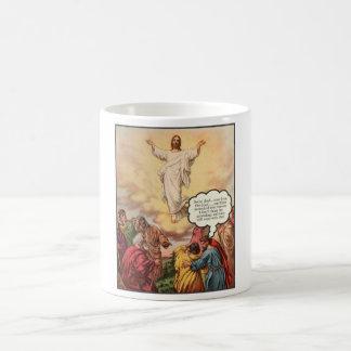 Jesus Ascends Coffee Mug