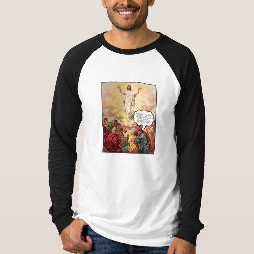 Jesús asciende poleras