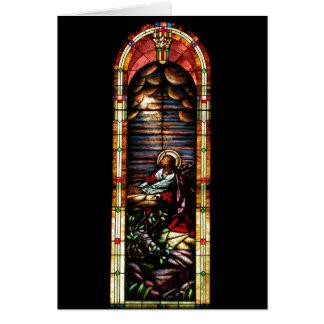 Jesus at Gethsemane Greeting Card