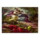 Jesus at Gethsemane Greeting card 2