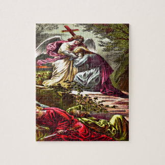Jesus at Gethsemane Puzzle Design