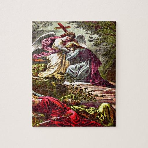 Jesus at Gethsemane Puzzle Design