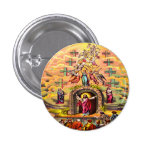 Jesus at Heaven's Gate button 1 Inch Round Button
