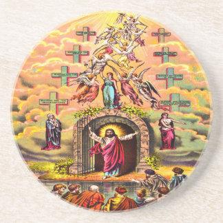 Jesus at Heaven's Gate coaster