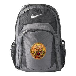 Jesus at Heaven's Gate Nike Backpack