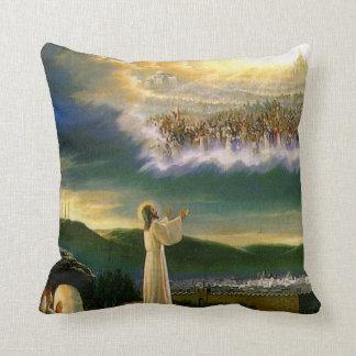 Jesus at Heaven's Gate Pillow