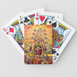 Jesus at Heaven's Gate playing cards