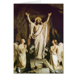 Jesus at Opening of Tomb Card