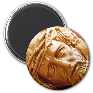 Jesus at rest magnet