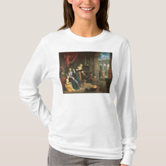 Jesus at the Home of Martha and Mary T-Shirt