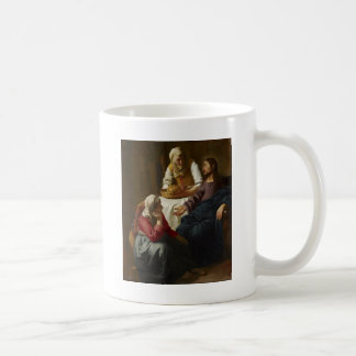 Jesus at the Home of Mary and Martha Coffee Mug