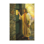 Jesus At Your Door Wrapped Canvas