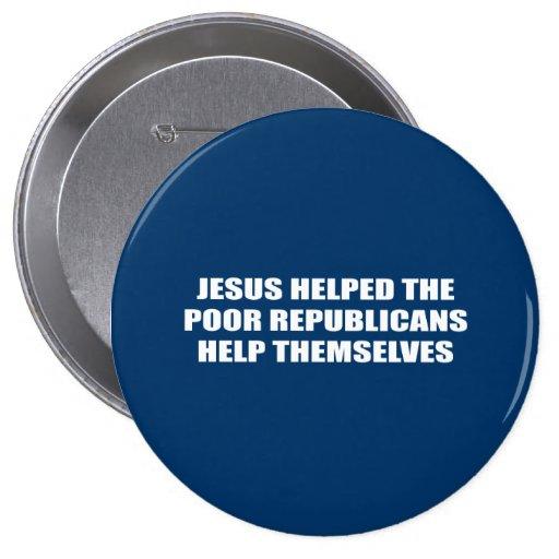 Jesús ayudó a la ayuda pobre ellos mismos de los r pin