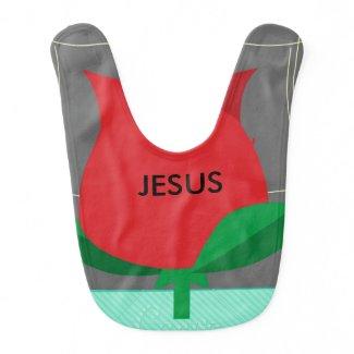 JESUS BABY BIB