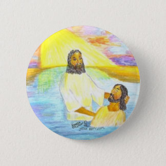 Jesus' Baptism Button