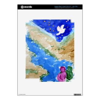 Jesus Baptism iPad 3 Decal