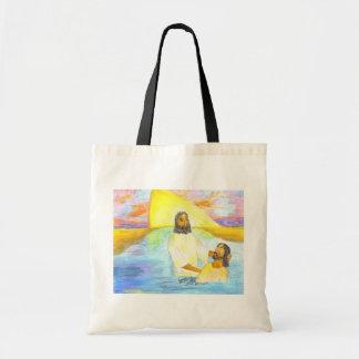 Jesus' Baptism Tote Bag