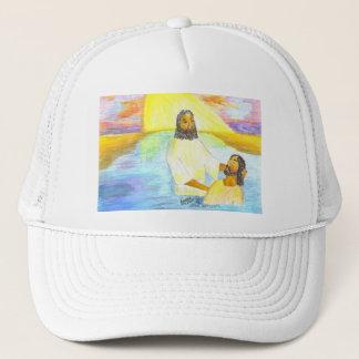 Jesus' Baptism Trucker Hat