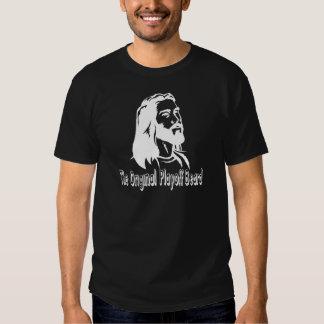jesus beard hockey playoffs t shirts