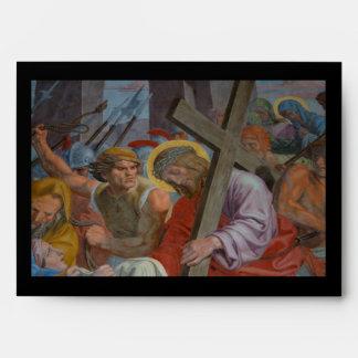 Jesus Bearing His Cross Envelope