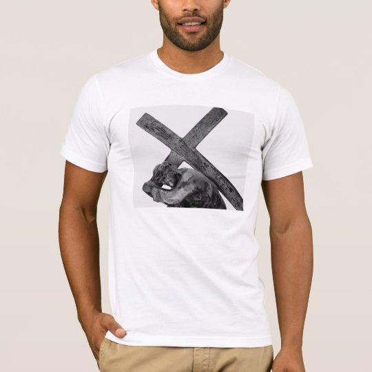 Jesus bears the Cross t-shirt