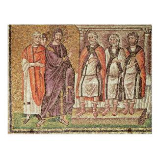 Jesus before Caiphus Postcard