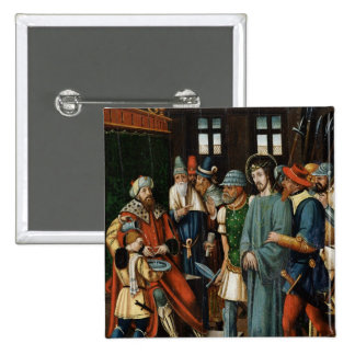 Jesus Before Pilate Pinback Button