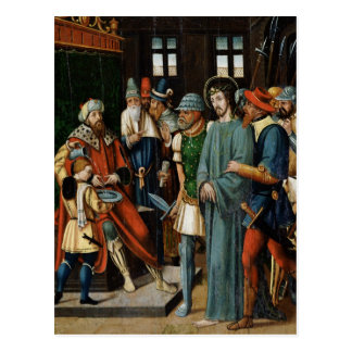 Jesus Before Pilate Postcard