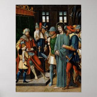 Jesus Before Pilate Poster