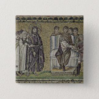Jesus before Pontius Pilate Pinback Button