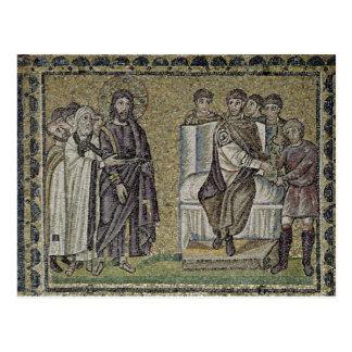 Jesus before Pontius Pilate Postcard