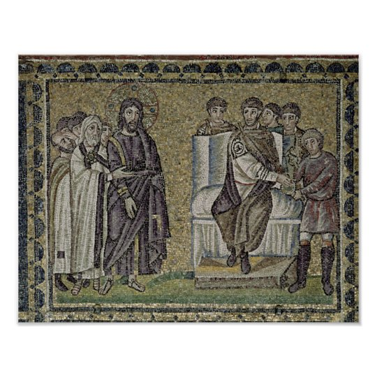 Jesus before Pontius Pilate Poster