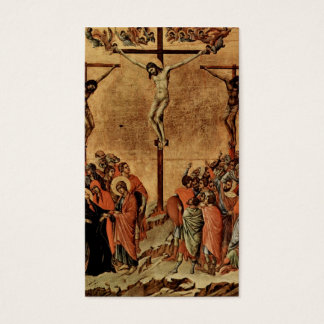 Jesus Between two Thieves Business Card