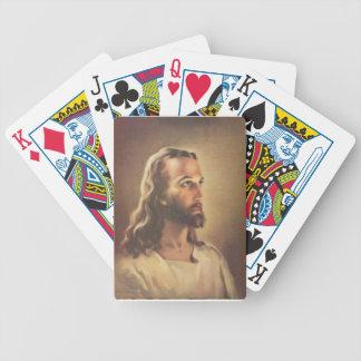 Jesus Bicycle Playing Cards