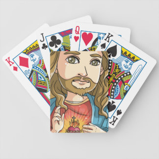 Jesus Bicycle Playing Cards