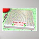 Jesus' Birthday Cake Poster