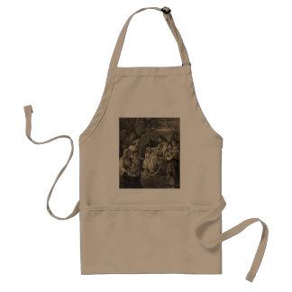 Jesus Blessing apron