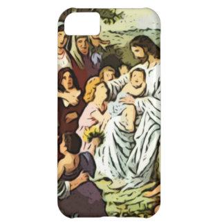 Jesus blessing the children iPhone 5C cases