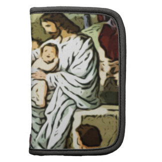 Jesus blessing the children folio planner
