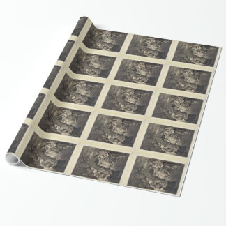 Jesus Blessing wrapping paper