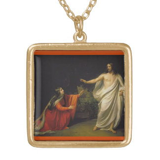 JESUS BLESSINGS GOLD PLATED NECKLACE