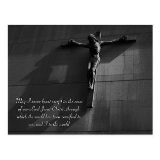 Jesús - (blkONwh) ver.2 Noir Postal