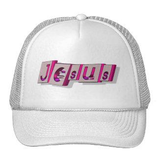 Jesus Bloc Fushia. Hats