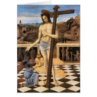 Jesus Blood Of The Redeemer Religious Card