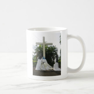 Jesus' body removed from the cross (Lamentation) Classic White Coffee Mug