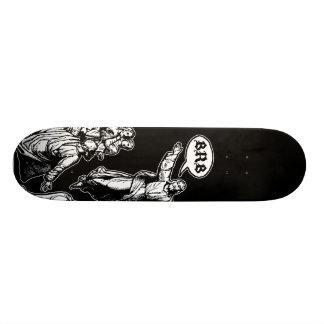 Jesus BRB lol Skateboard Deck