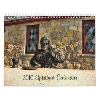 jesus breaking bread, 2010 Spiritual Calendar