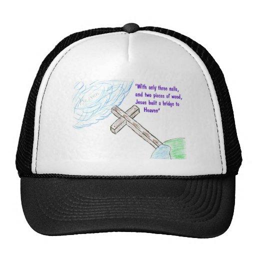 Jesus bridge trucker hat